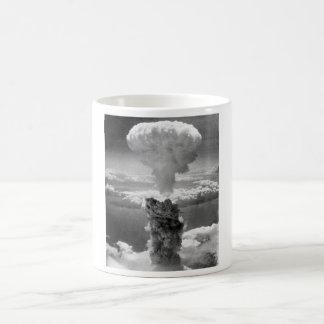 Atompilz über Nagasaki -- WW2 Kaffeetasse