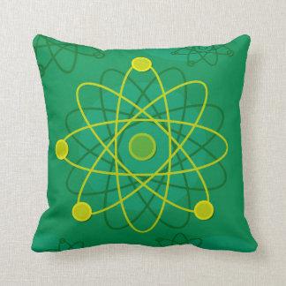 Atomstruktur-Grafik Kissen