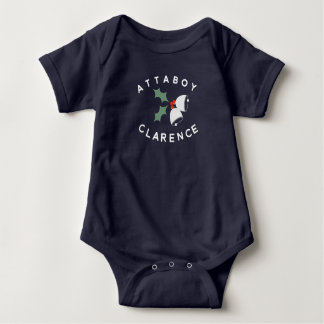 Attaboy Clarence Bell Bodysuit Baby Strampler