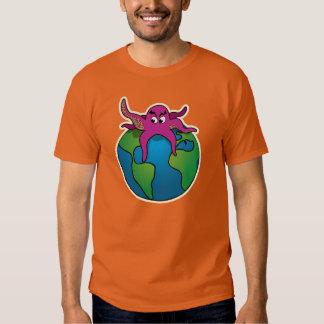 Attaque de monstre ! t-shirt