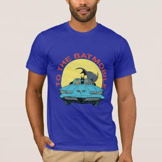 Au Batmobile - icône affligée T-shirt