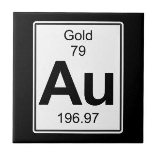 Au - Gold Keramikfliese