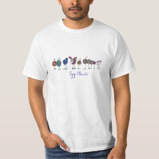 Auberginen, Ei-Pflanzen - besonders angefertigt T-Shirt