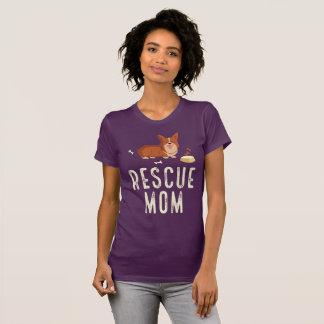Auberginen-Rettungs-Mamma-Shirt T-Shirt
