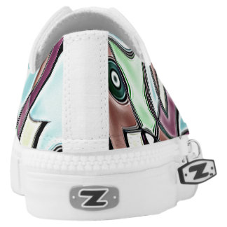 Auberginen-Turnschuh Niedrig-geschnittene Sneaker