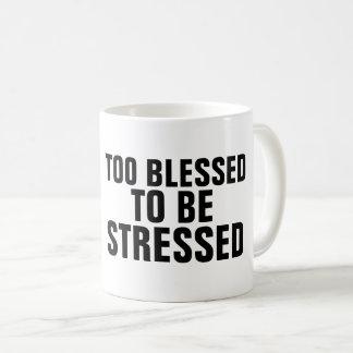AUCH GESEGNET, UM BETONTE Kaffee-Tassen ZU SEIN Kaffeetasse