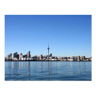Auckland-Stadt, Neuseeland Postkarte