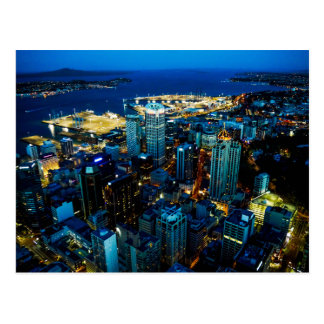 Auckland-Stadtansicht vom Himmel-Turm - Postkarte