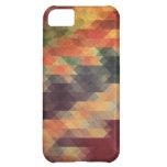 Audacieuses géométriques couleurs portées rétros coque iPhone 5C
