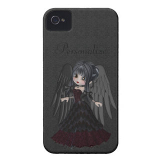 Audacieux gothique mignon de Blackberry d'ange Coque iPhone 4