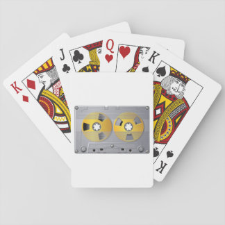 AudioKassetten-Spielkarten Spielkarten