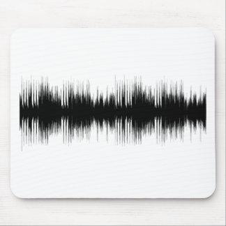 Audioohrenohr-Anhörungs-Musik musikalisches Mousepad