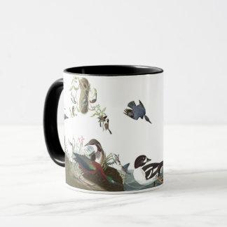Audubon Collagen-Vogel-Tier-Ozean-Tasse Tasse