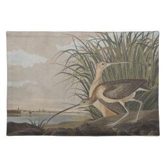 Audubon Lang-Berechnete Tischset