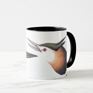 Audubon Loon u. Grebe-Vogel-Tier-Tier-Tasse Tasse