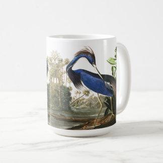 Audubon Louisiana Reiher-Vogel-Tier-Tier-Tasse Kaffeetasse