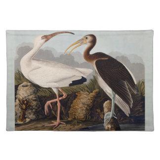 Audubon Weiß IBIS Stofftischset