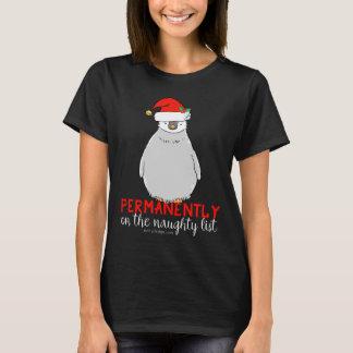 Auf dem frechen Listen-Pinguin T-Shirt