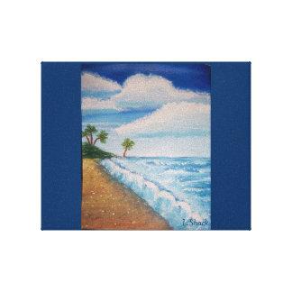 Auf dem Strand Gespannte Galeriedrucke