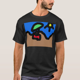 Auf dem Strand T-Shirt