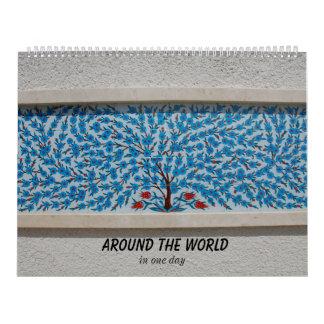 Auf der ganzen Welt Kalender