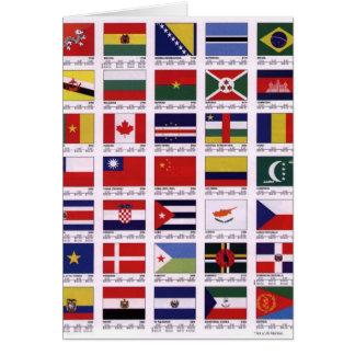 Auf der ganzen Welt Karte