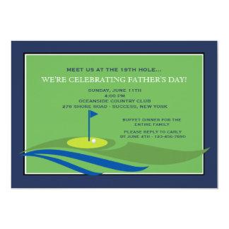 Auf der grünen der Vatertags-Einladung 12,7 X 17,8 Cm Einladungskarte