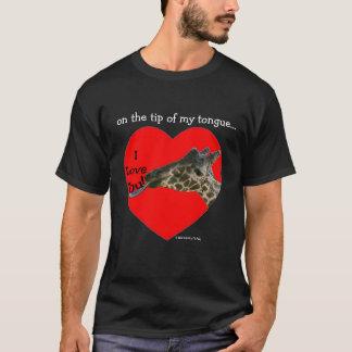 Auf der Spitze meiner Zunge… T-Shirt