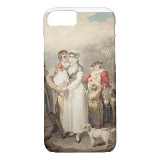 Auf der Straße 1799 (w/c über Spuren des iPhone 8/7 Hülle