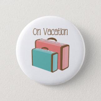 Auf Ferien Runder Button 5,1 Cm