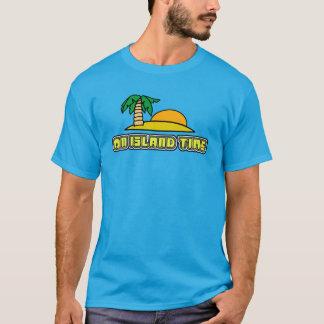 Auf Inselzeit-Palme-Strand-Shirt T-Shirt
