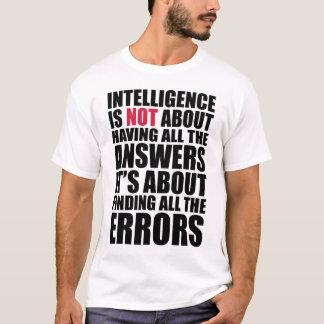 Auf Intelligenz T-Shirt