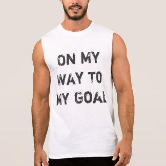 Auf meiner Weise zu meinem Ziel Ärmelloses Shirt