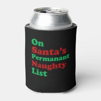 Auf Sankt dauerhaftem frechem Listen-Weihnachten Dosenkühler