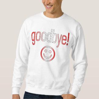Auf Wiedersehen! Kanada-Flaggen-Farben Sweatshirt