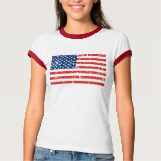 Aufdeckung USA-Flagge T-Shirt