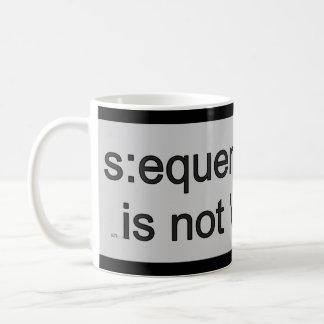 Aufeinander folgendes Info ist nicht meine Sache… Kaffeetasse