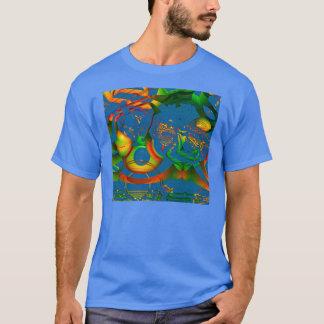 AUFENTHALT FOKUSSIERTES MANDELBULB 3D. T-Shirt