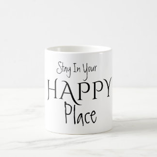 Aufenthalt in Ihrer GLÜCKLICHEN Platz-Tasse Kaffeetasse