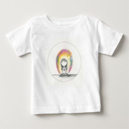 Aufenthalt-Ruhe, senden Liebe Baby T-shirt