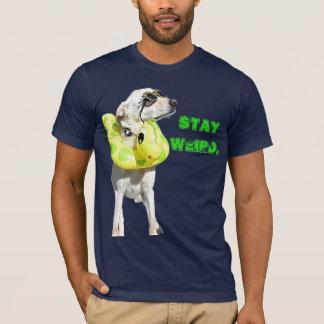 Aufenthalt sonderbar T-Shirt