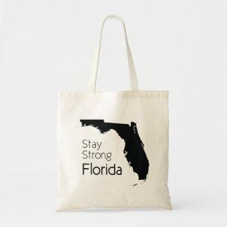 Aufenthalt starkes Florida Tragetasche