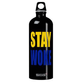 Aufenthalt weckte Sigg Wasser-Flasche - Schwarzes Aluminiumwasserflasche