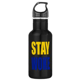 Aufenthalt weckte Wasser-Flasche Edelstahlflasche