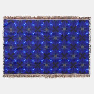 Auffällige blaue Fliesen Decke