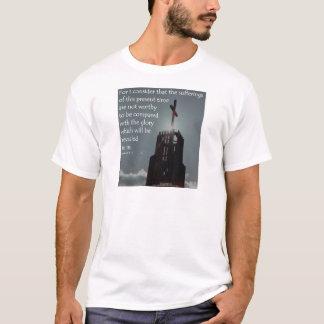 Aufgedeckt zu werden Römer-8:18 Ruhm T-Shirt