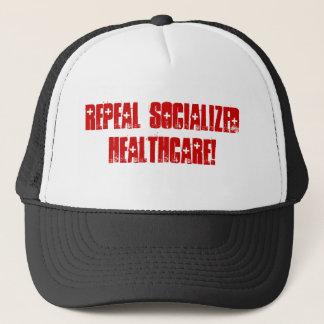 Aufhebung sozialisiertes Gesundheitswesen Truckerkappe