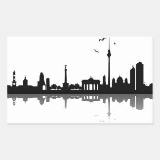Aufkleber Berlin Skyline