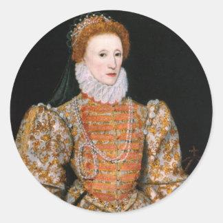 Aufkleber der Königin-Elizabeth