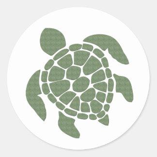 Aufkleber der Meeresschildkröte-NAHM